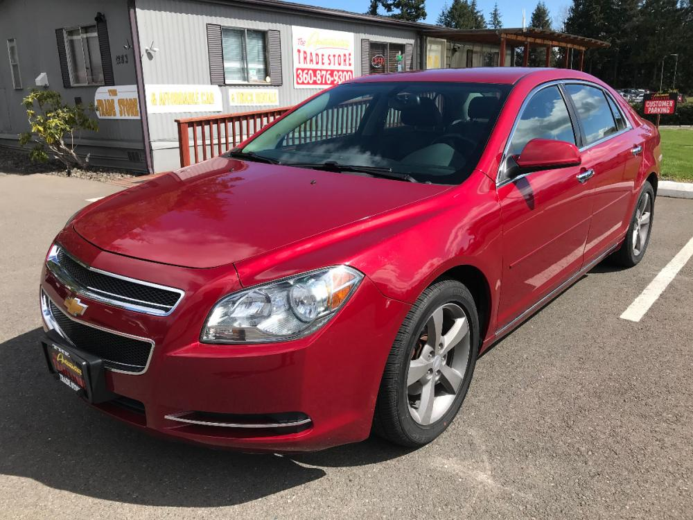 2012 Red Chevrolet Malibu 2LT (1G1ZD5E02CF) with an 2.4L L4 DOHC 16V engine, 6-Speed Automatic transmission, located at 1283 SE Sedgwick Road, Port Orchard, WA, 98366, (360) 876-9300, 47.505535, -122.635643 - Photo #0