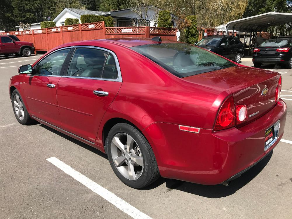 2012 Red Chevrolet Malibu 2LT (1G1ZD5E02CF) with an 2.4L L4 DOHC 16V engine, 6-Speed Automatic transmission, located at 1283 SE Sedgwick Road, Port Orchard, WA, 98366, (360) 876-9300, 47.505535, -122.635643 - Photo #1