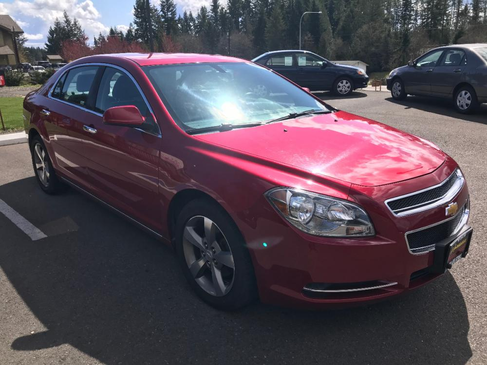 2012 Red Chevrolet Malibu 2LT (1G1ZD5E02CF) with an 2.4L L4 DOHC 16V engine, 6-Speed Automatic transmission, located at 1283 SE Sedgwick Road, Port Orchard, WA, 98366, (360) 876-9300, 47.505535, -122.635643 - Photo #3