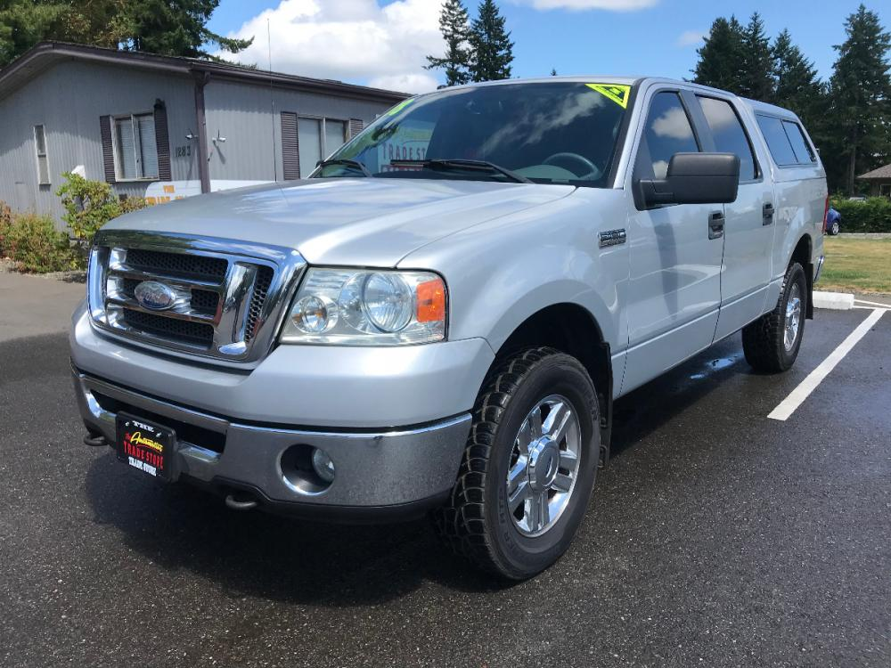 2008 Silver /Gray Ford F-150 XLT (1FTPW14V48F) with an 5.4L V8 SOHC 24V FFV engine, 4-Speed Automatic Overdrive transmission, located at 1283 SE Sedgwick Road, Port Orchard, WA, 98366, (360) 876-9300, 47.505535, -122.635643 - Photo #0